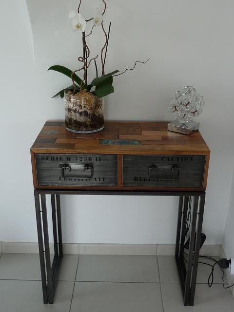 etag res et consoles teck m tal architeck meubles ethnicraft teck et chene mobilier. Black Bedroom Furniture Sets. Home Design Ideas